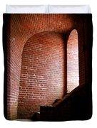 Dark Brick Passageway Duvet Cover by Frank Romeo