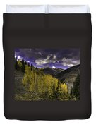 Dark Brightness Duvet Cover