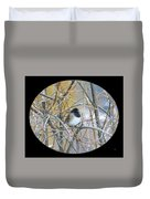 Dark- Eyed Junco Duvet Cover