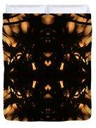 Dark Flame Of Nature Duvet Cover