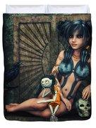 Dark Girl Duvet Cover