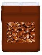 Dark Roasted Coffee Beans Duvet Cover