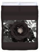 Dark Rose Duvet Cover
