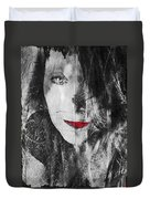 Dark Thoughts Duvet Cover