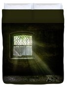 Darkness Revealed - Basement Room Of An Abandoned Asylum Duvet Cover