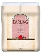 Darling Duvet Cover