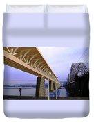 Darnitsky Bridge Duvet Cover