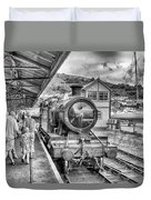 Dart Valley Railway Duvet Cover