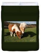 Dartmoor Ponies  Duvet Cover