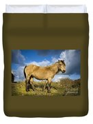 Dartmoor Pony Duvet Cover