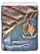 Darwin's Pride-b52 Bomber Duvet Cover
