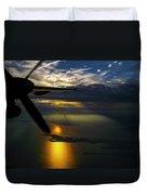 Dash Of Sunset Duvet Cover