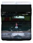 Dashboard Hula Girl Duvet Cover