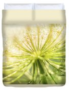 Daucus Carota - Queen Anne's Lace - Wildflower Duvet Cover