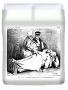 Daumier: Republican, 1834 Duvet Cover