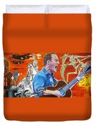 Dave Matthews The Last Stop Duvet Cover by Joshua Morton