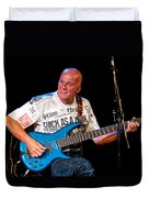 Dave Pegg Bass Player For Fairport Convention And Jethro Tull Duvet Cover