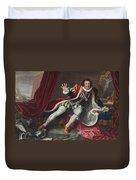 David As Richard IIi, Illustration Duvet Cover
