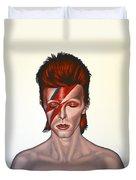David Bowie Aladdin Sane Duvet Cover