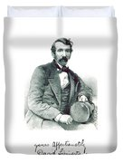 David Livingstone, Scottish Explorer Duvet Cover