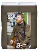 David Lowery Of Cracker Duvet Cover