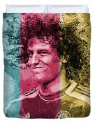 David Luiz - C Duvet Cover