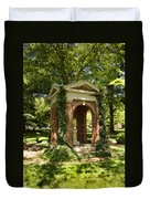 Davidson College Old Well Duvet Cover