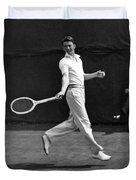 Davis Cup Play Duvet Cover