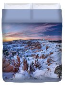 Dawn At Bryce Duvet Cover