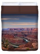 Dawn At Dead Horse Point Duvet Cover
