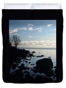 Dawn At The Cove Duvet Cover