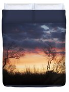Dawn In The Catskills Duvet Cover