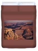 Dawn In The Grand Canyon Duvet Cover