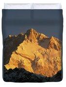 Dawn On Kangchenjunga Talung Face Duvet Cover