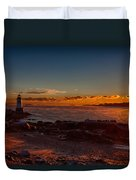 Dawn Rises Duvet Cover