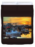 Dawn's Early Light Duvet Cover by Randy Hall