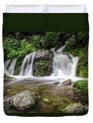 Day 1000 - Lower Forest Glen Falls Duvet Cover