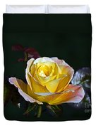 Day Breaker Rose Duvet Cover