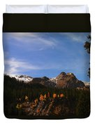Day Dreaming In Colorado Duvet Cover