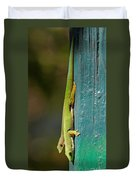 day geckos from Madagascar 1 Duvet Cover