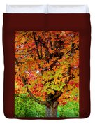 Day Glo Autumn Duvet Cover