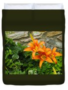Day Lilly Duvet Cover