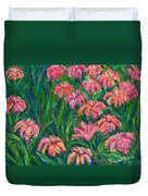 Day Lily Rush Duvet Cover