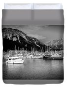 Day On The Water Duvet Cover