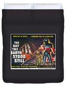 Day The Earth Stood Still Duvet Cover