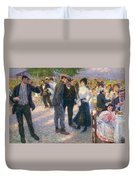 Day Trip Out Of Porta San Giovanni Duvet Cover
