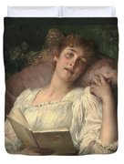 Daydreaming Duvet Cover by Conrad Kiesel