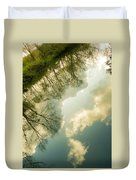 Daydreaming On The Canal Duvet Cover
