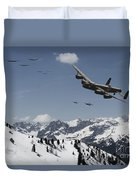 Daylight Raid Duvet Cover
