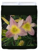 Daylilies Duvet Cover